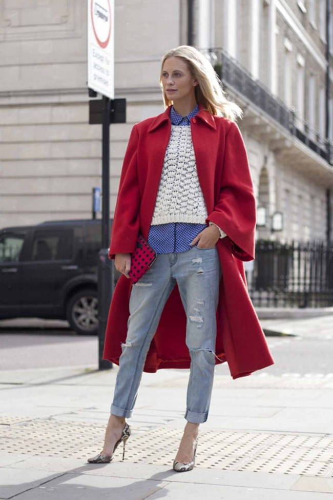 Street Style At London For Autumn Winter 2014 Beauty Ruin