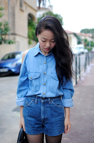 double+denim+and+cutoffs