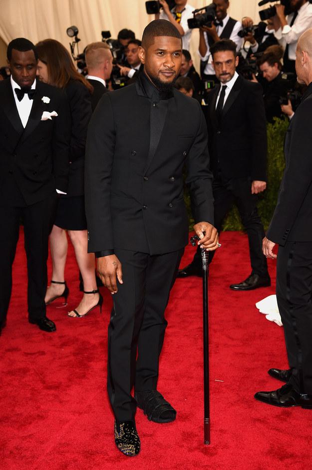 buzzfeed Usher in Calvin Klein